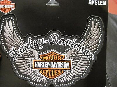 Harley Davidson Patch Lady Rider Glamour Patch Studded Awesome Great Gift Sew On
