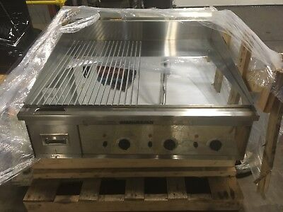 NEW Keating MiraClean 36 inch Electric Griddle w/ Extras! NICE