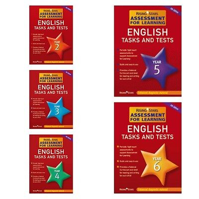 English Rising Stars Tasks & Tests Year 2, 3, 4, 5 OR 6 (CD-ROM ONLY)