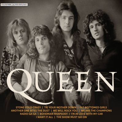 Queen - Icon (CD) • NEW • Greatest Hits, Best of, Bohemian Rhapsody