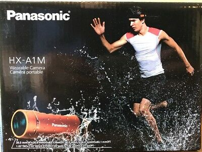 Panasonic HX-A1M Wearable Full HD Action Camera (Black)