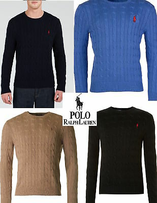 Polo Ralph Lauren Cable Knit Jumpers for Men