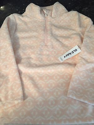 OLD NAVY Toddler Girl Fleece 1/4 Zip Pullover Size 5T NWT