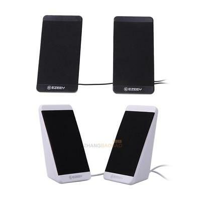 Multimedia USB Audio Speakers with Digital Sound For Computer Desktop or Laptop