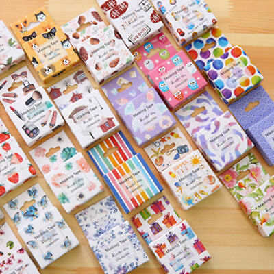 10m Self Adhesive Cartoon Washi Masking Tape Sticker Scrapbook Craft Decor Craft