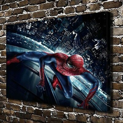 """24""""x36""""Spider-man movie posters HD Canvas Print Paintings Home Decor Wall Art"""