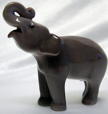 B & G Bing & Grondahl Baby Elephant Figurine Limited To The Year 1986 #2140