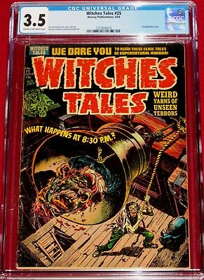 WITCHES TALES issue 25  CLASSIC Decapitated Head Cover by Howard Nostrand!