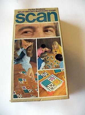 Scan Vintage Game - 1970 - Vintage - Complete - Split Second Matching Game