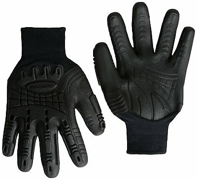 Mad Grip Thunderdome Impact Glove, Black, X-Large