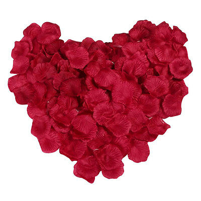 300X Red Flower Rose Petals Scatter For Wedding Party Valentine's Day