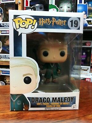 Harry Potter - Draco Malfoy Quidditch Funko Pop Vinyl US Excl. FREE DELIVERY