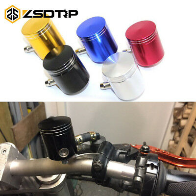 CNC Motorcycle Master Cylinder Fluid Oil Reservoir Cup Front Brake Clutch Tank
