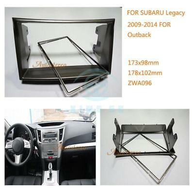 For Subaru Legacy Outback 2009-2014 Inner Center Control Car GPS/DVD/CD Frame