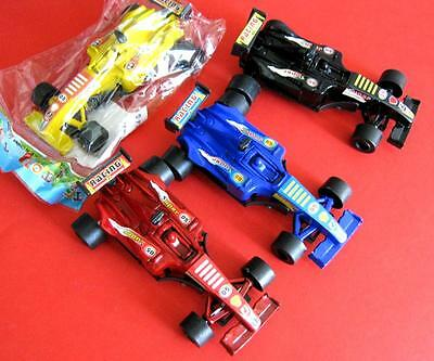 Bulk Lot x 20 Mixed Colors F1 Racing Cars 9cm Boys Party Favor Novelty Toys NEW