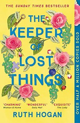 The Keeper of Lost Things: winner of the Richar by Ruth Hogan New Paperback Book
