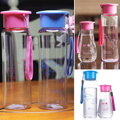 Kids Baby Water Bottle Tumbler Travel Drink Container Sport Cup 280ML-520ML