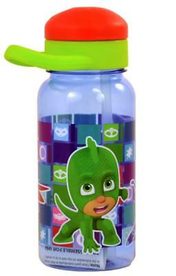 Pj Masks 14Oz Twist Top Water Bottle Owlette Gekko Catboy New Gift