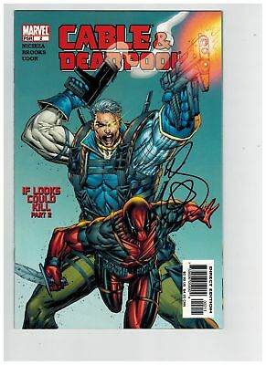 Cable & Deadpool (2004) #   2 SIGNED MARK BROOKS (9.0-NM)
