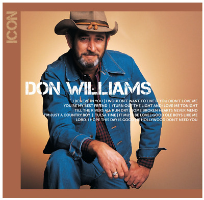Don Williams - Icon (CD) • NEW • Best of, Greatest Hits
