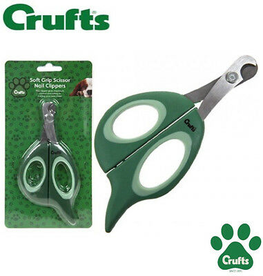 Crufts dog cat nail clippers trimmers all dogs Soft Grip claw