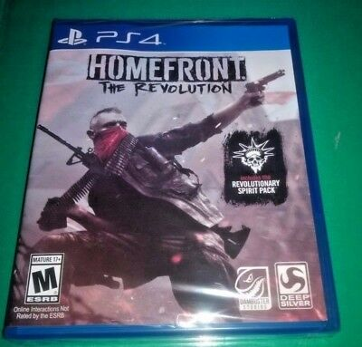 Homefront: The Revolution - PlayStation 4 New Sealed
