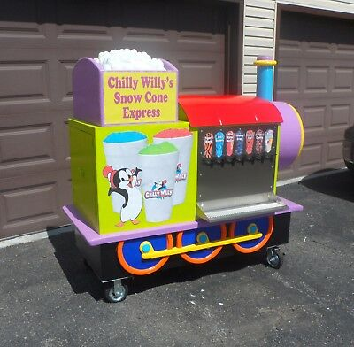 Snow Cone Cart - Very Unique - The Kids Will Love It!