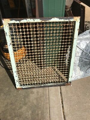 M1 Antique Cold Air Return Grate 27.5 X 33