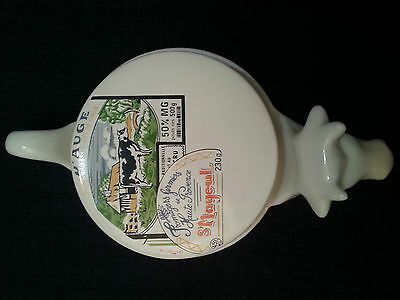 Vintage Cow Cheese Dish, Camembert Cheese Plate, Cheese Serving Tray.