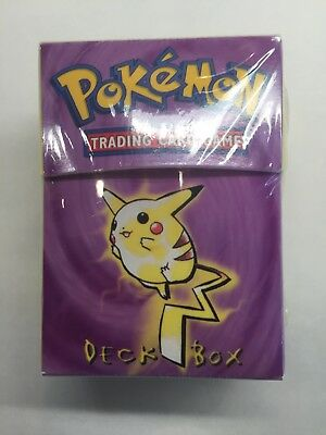 *Lot of 3, Factory Sealed* POKÉMON TRADING CARD GAME DECK BOX