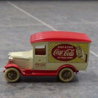 Coca Cola Metal Toy Truck, Days Gone, Made in England by Lledo