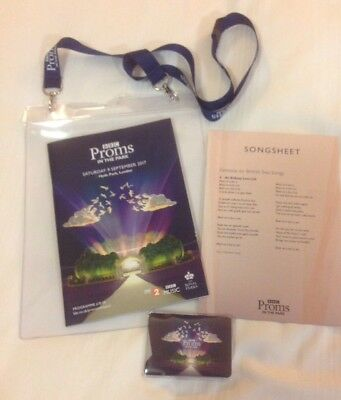 BBC - LAST NIGHT OF THE PROMS / PROMS IN THE PARK  2017 * Official Programme *