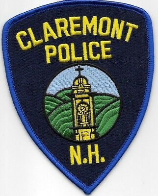 Claremont New Hampshire Nh Police Dept Cross Clock Tower Cpd Pd Local State