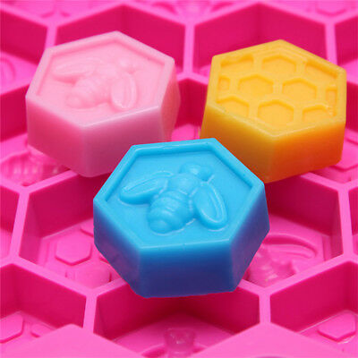 Silicone cake chocolate mold mould small bee honeycomb accept high temperatures