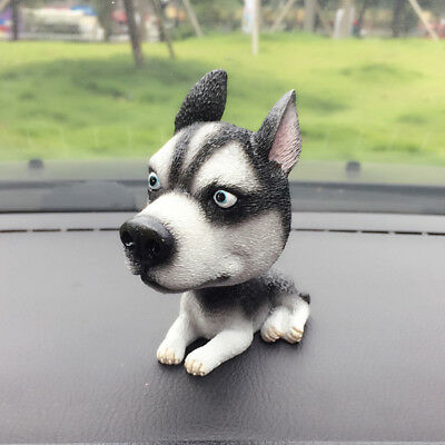 Siberian Husky Dog Bobbing Bobblehead Doll Nodding Dog Lover Gift