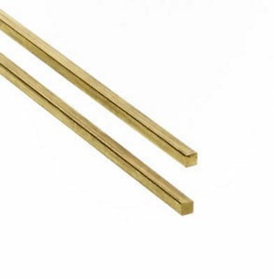 Albion Alloys Brass Rod Square 3.0x3.0mm 305mm Long (2pcs) alb-sbw30