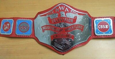 Nwa Television Heavyweight Championship Replica Belt Thick Brass Plates!!
