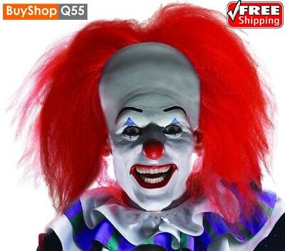 Rubies Pennywise Orginal Wig Adult Scary Clown It Halloween Costume Fancy Dress