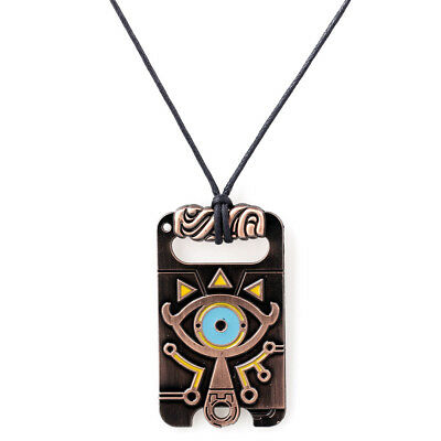 The Legend of Zelda Sheikah Slate Breath of the Wild Necklace Cosplay Pendant