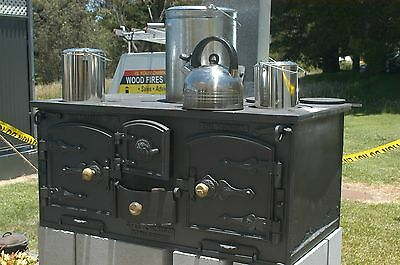 wood stove  Younger No 6 Double oven