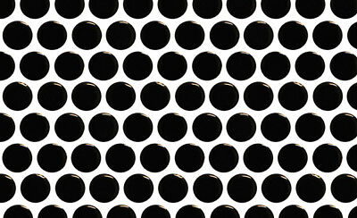NEW Black Gloss Penny Round 19mm Mosaic Tile Bathroom Kitchen Laundry Wall