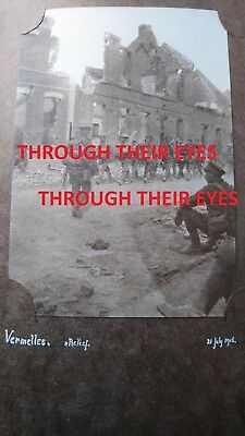 Dvd Scans Officers Ww1 Photo Album Machine Gun Corps Includes Loos & Somme