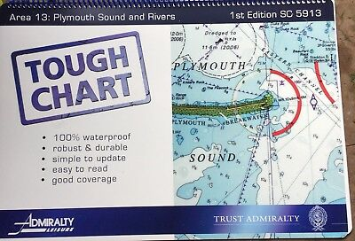 tough chart sc5913 Plymouth sound and rivers unused