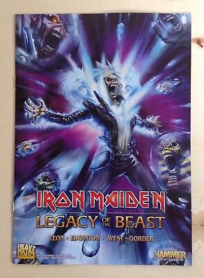 Iron Maiden Legacy Of The Beast Comic Book Exclusive Preview Edition