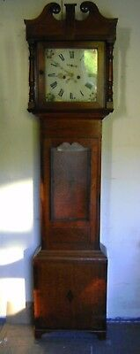 Antique Grandfather Clock - 8Day.