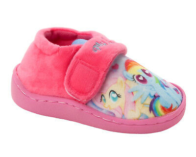 GIRLS OFFICIAL MY LITTLE PONY CANVAS SLIP ON PUMPS SHOES TRAINERS UK SIZE 4-10