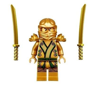 The Gold Ninja Golden Lloyd Ninjago Minifigure - Fits Lego
