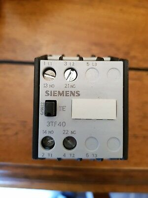 ⚡Siemens 4KW Contactor, 3TF40 11-0BB4, c/w 24v dc coil⚡