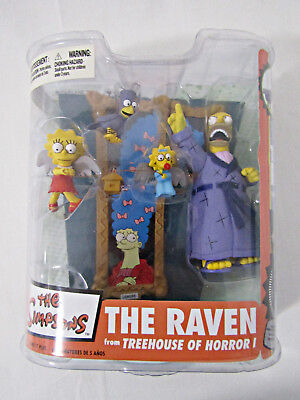The Simpsons - The Raven from Treehouse of Horror I (McFarlane, FOX, 2007) New
