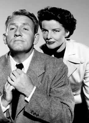 Adam's Rib UNSIGNED photo - K1997 - Spencer Tracy and Katharine Hepburn
